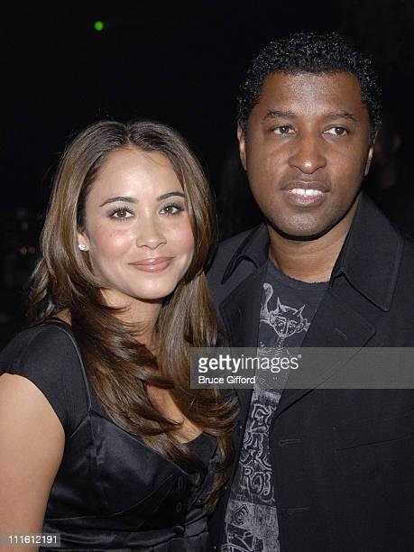 Kenny Babyface Edmonds and Nicole Pantenburg