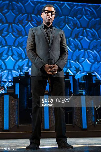 Kenny 'Babyface' Edmonds attends the new cast announcement for 'After Midnight' at Brooks Atkinson Theatre on March 13 2014 in New York City
