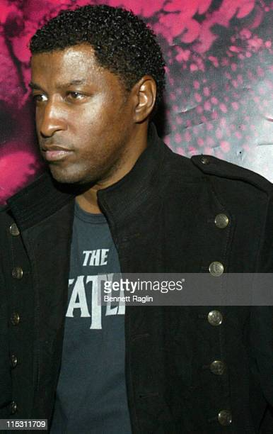 Kenny 'Babyface' Edmonds during 2006 MTV Video Music Awards PreVMA Party Hosted by Kelis at PM in New York City New York United States