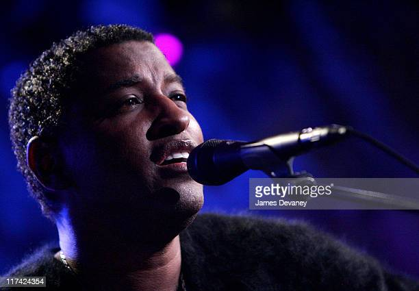 Kenny 'Babyface' Edmonds during 2007 Sundance Film Festival Music Meets Film Concert Series at Airborne Lounge in Park City Utah United States