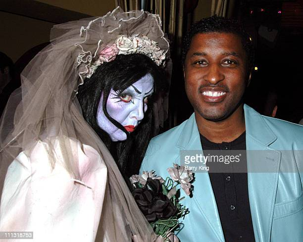 Kenny Babyface Edmonds during Columbia Pictures The Grudge 2 Premiere After Party at Knott's Scary Farm in Buena Park California United States