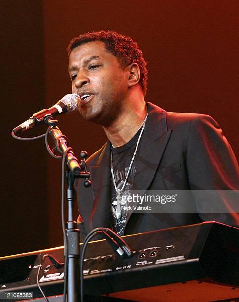 Kenny 'Babyface' Edmonds during Kenneth 'Babyface' Edmonds in Concert at The Borgata in Atlantic City July 22 2005 at The Borgata in Atlantic City...