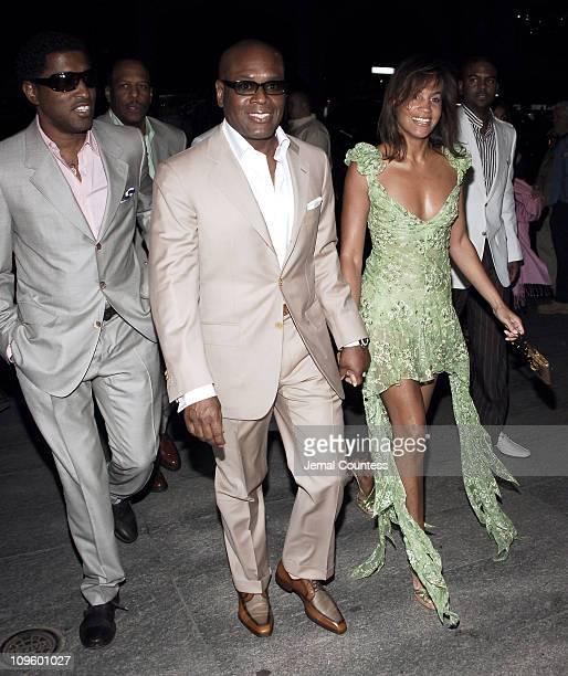 Kenny Babyface Edmonds LA Reid and Erica Reid