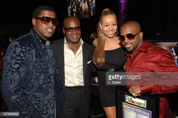 Kenny 'Babyface' Edmonds LA Reid Mariah Carey and Jermaine Dupri