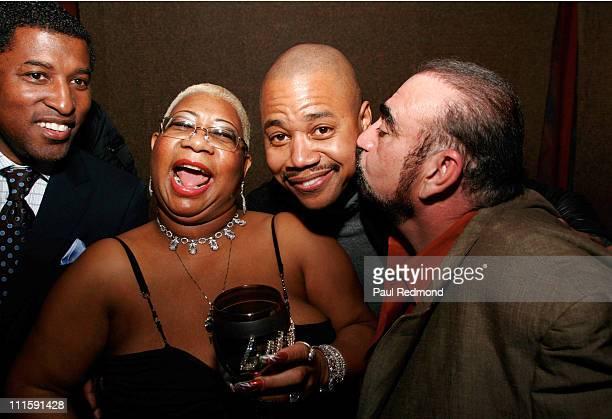 Kenny Babyface Edmonds Luenell Cuba Gooding Jr and Ken Davitian