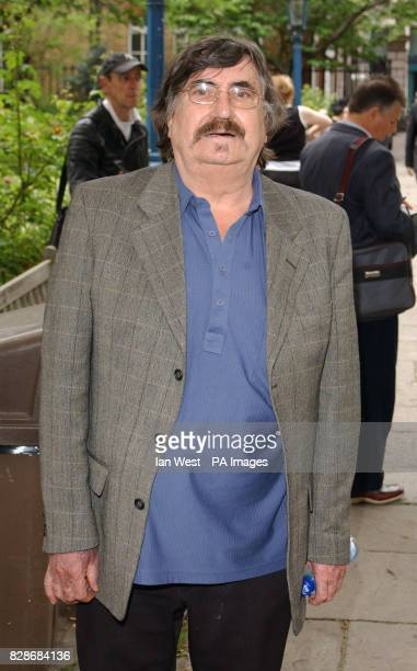 Kenny Ball arrives for a memorial service at St Paul's Church in London's Covent Garden to celebrate the life of sixties legend Lonnie Donegan