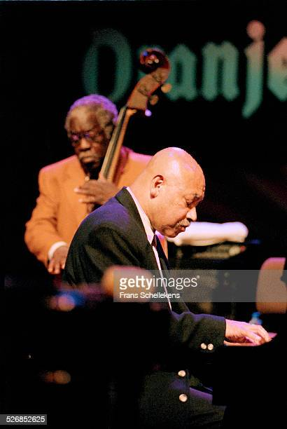Kenny Barron, piano, performs with Keter Bettson July 11th 1998 at the North Sea Jazz Festival in the Hague, Netherlands.