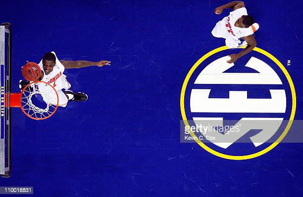 Kenny Boynton of the Florida Gators shoots against the Tennessee Volunteers during the quarterfinals of the SEC Men's Basketball Tournament at...
