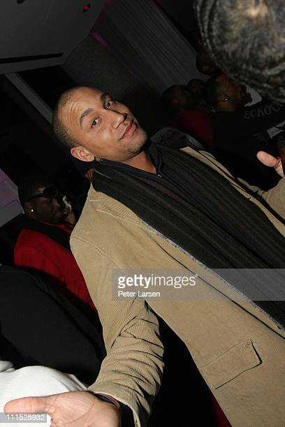 Kenny Burna attends the 944 Magazine All Star Weekend Finale Party at the Ghost Bar Featuring a Performance by Common on February 14 2010 in Dallas...