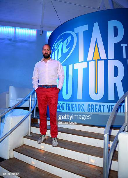 Kenny Burns attends Tap The Future event at Nikki Beach on July 8 2014 in Miami Beach Florida