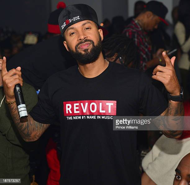 Kenny Burns attends the Dipset Reunion at Compound on November 9 2013 in Atlanta Georgia