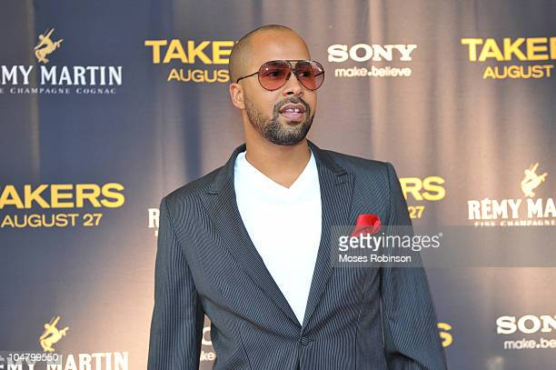 Kenny Burns attends the Takers premiere at Regal Atlantic Station on August 24 2010 in Atlanta Georgia