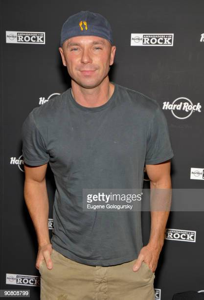 Kenny Chesney attends the 2009 Ambassadors of Rock Tour at Hard Rock Cafe Times Square on September 15 2009 in New York City