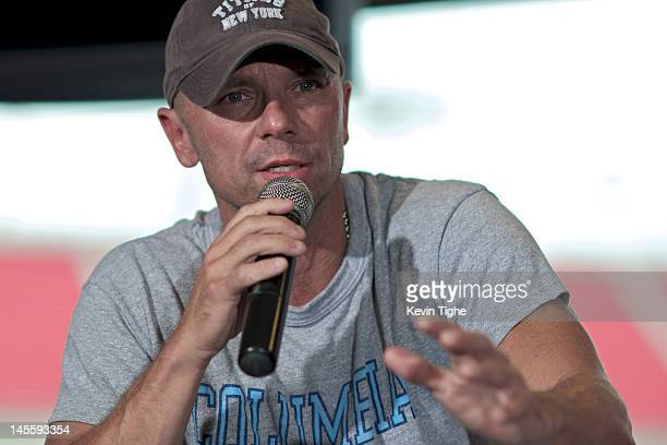 Kenny Chesney attends the 'Brothers of the Sun' Tour KickOff Press Conference at Raymond James Stadium on June 1 2012 in Tampa Florida Photo by Kevin...