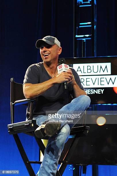 Kenny Chesney attends the iHeartCountry Album Preview at The iHeartRadio Theater LA on October 27 2016 in Burbank California