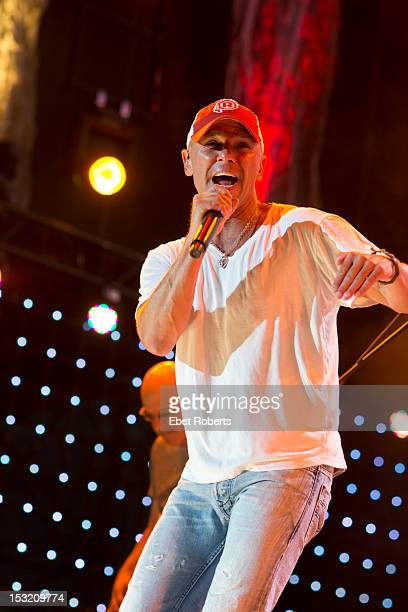Kenny Chesney performs on stage during the Farm Aid Concert at Hersheypark Stadium on September 22, 2012 in Hershey, Pennsylvania.
