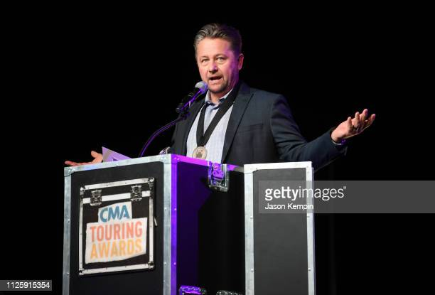 Kenny Chesney's tour manager David Farmer attends the 2018 CMA Touring Awards at Marathon Music Works on January 28 2019 in Nashville Tennessee