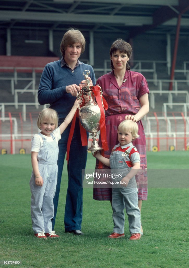 Kenny Dalglish With His Family At Anfield : News Photo