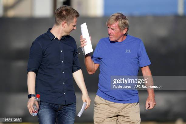 Kenny Dalglish before the preseason friendly between AFC Bournemouth and AFC Wimbledon at La Manga Club on July 16 2019 in Cartagena Spain