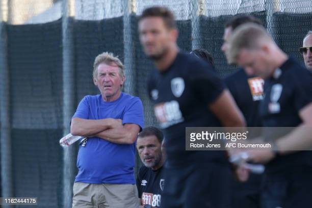 Kenny Dalglish during preseason friendly between AFC Bournemouth and AFC Wimbledon at La Manga Club on July 16 2019 in Cartagena Spain