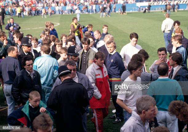 Kenny Dalglish in the wake of the Hillsborough Disaster at the start of the FA Cup SemiFinal between Liverpool and Nottingham Forest which resulted...