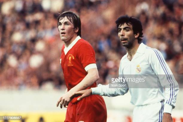 Kenny DALGLISH of Liverpool during the European Cup Final match between Liverpool FC and Real Madrid CF at Parc des Princes Paris France on 27th May...