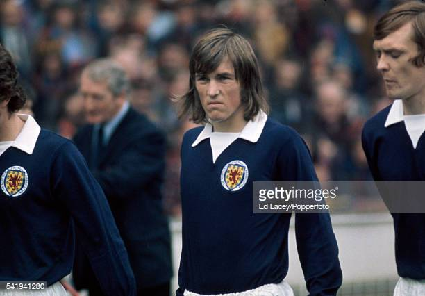 Kenny Dalglish of Scotland during the England versus Scotland international football match at Wembley Stadium in London on 19th May 1973 England beat...