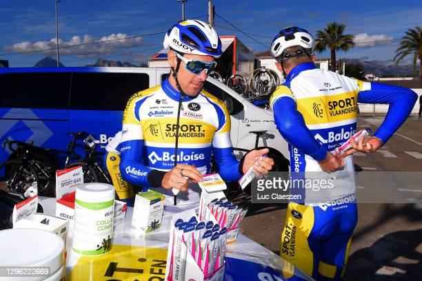 Kenny De Ketele of Belgium and Sport Vlaanderen - Baloise / Etixx Sports Nutrition / during the Team Sport Vlaanderen - Baloise 2021 - Training Camp...