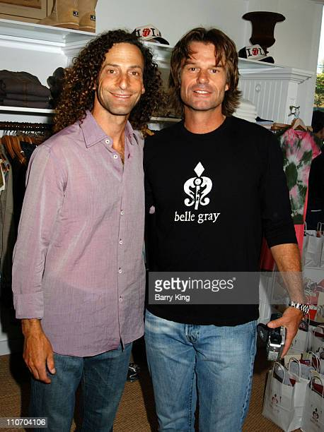 Kenny G and Harry Hamlin during Lisa Rinna Hosts One Year Anniversary Party For Belle Gray Boutique Inside at Belle Gray Boutique in Sherman Oaks...