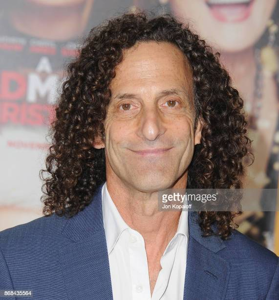 Kenny G arrives at the Los Angeles Premiere of 'A Bad Moms Christmas' at Regency Village Theatre on October 30 2017 in Westwood California