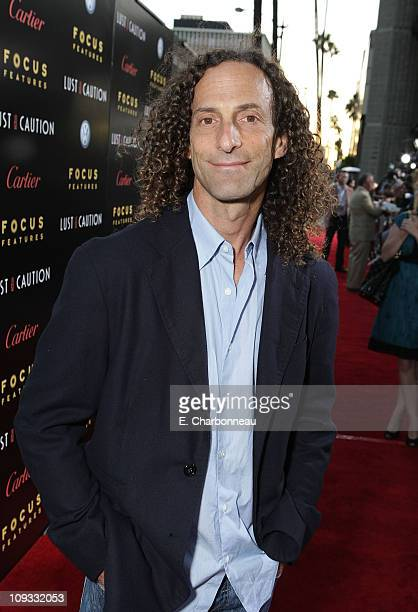 Kenny G at the Los Angeles Premiere of 'Lust Caution' presented by Focus Features at the Academy of Motion Pictures Arts and Sciences on October 3...