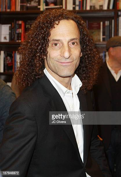 Kenny G attends a live Interactive reading event of 'ELFBOT' inside Barnes Noble at The Americana at Brand on December 7 2012 in Glendale California