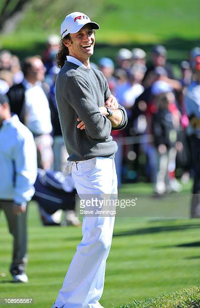Kenny G attends the ATT Pebble Beach National ProAm at Pebble Beach Golf Links on February 9 2011 in Pebble Beach California