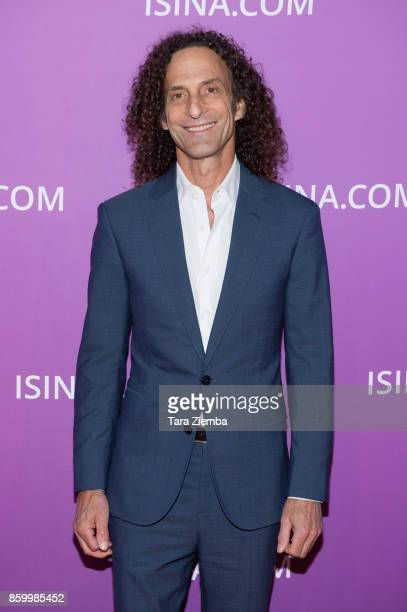 Kenny G attends the ISINA Global Gala at Unici Casa on October 10 2017 in Culver City California