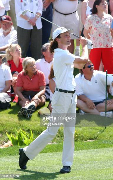 Kenny G during 5th Annual Michael Douglas And Friends Celebrity Golf Tournament Presented By Lexus and Izod To Benefit The Motion Picture &...