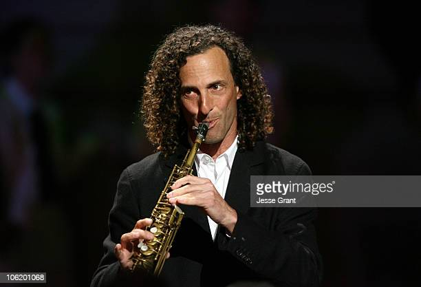 Kenny G during George Lopez Hosts National Kidney Foundation Gala Show in Los Angeles California United States
