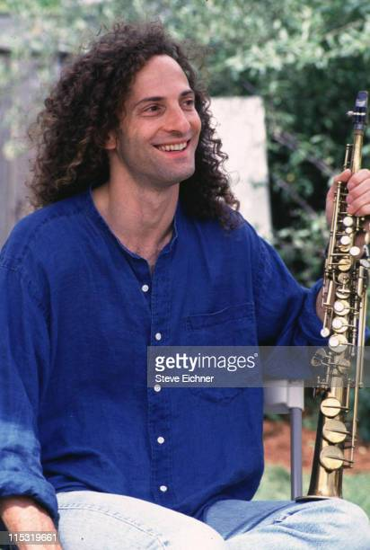 Kenny G during KISS FM Benefit Concert at Great Woods Amphitheater June 4 1994 at Great Woods Amphitheater in Mansfield Massachusetts United States