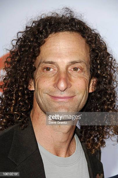 Kenny G during Nickelodeon's 19th Annual Kids' Choice Awards Arrivals at Pauley Pavilion in Westwood California United States