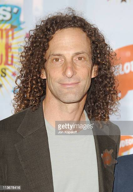 Kenny G during Nickelodeon's 19th Annual Kids' Choice Awards Arrivals at Pauley Pavillion in West wood California United States