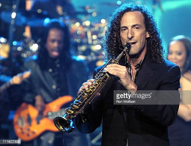 Kenny G performing on New Year's Rockin' Eve 2005 at CBS Studio Center in Studio City California United States