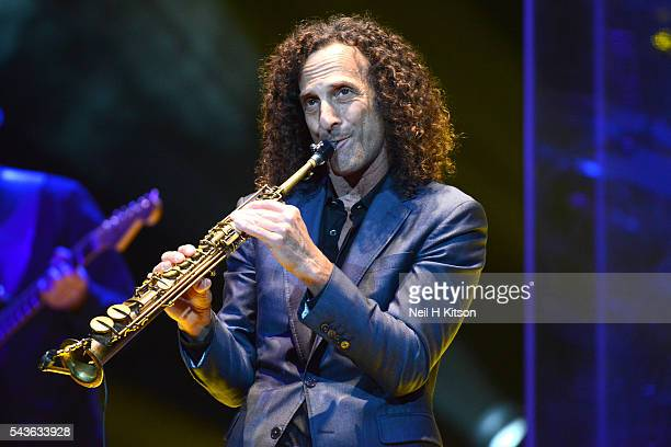 Kenny G Performs at Bridgewater Hall on June 27 2016 in Manchester England