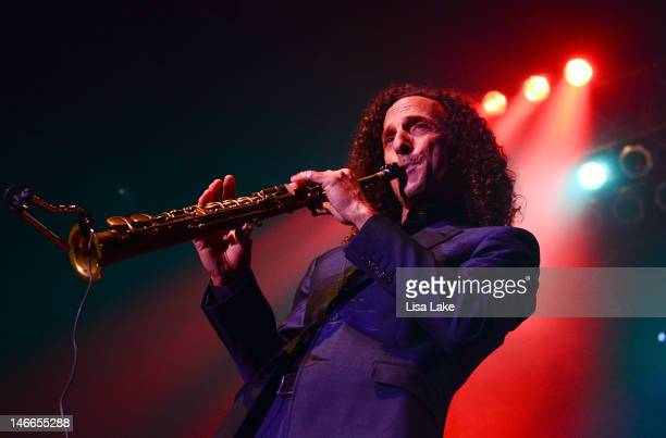 Kenny G performs at Sands Event Center on June 21 2012 in Bethlehem Pennsylvania