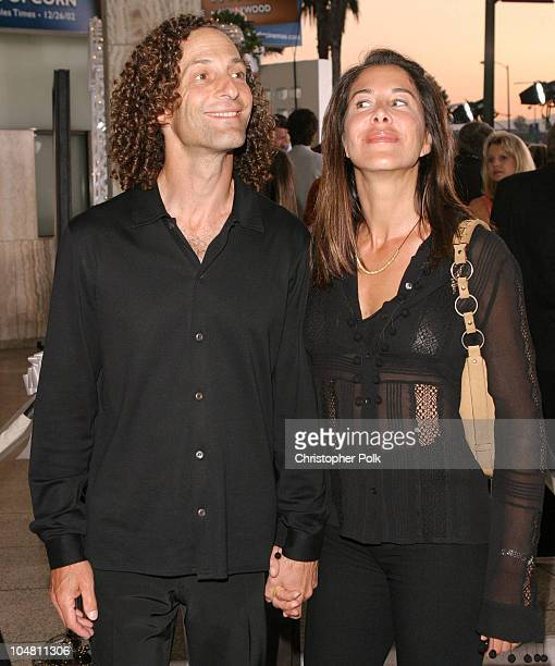 Kenny G Wife during Premiere of 'The InLaws' at Cinerama Dome in Hollywood California United States