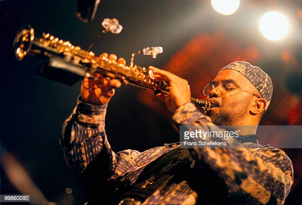 Kenny Garrett performs live on stage at Paradiso in Amsterdam, Netherlands on April 20 1999