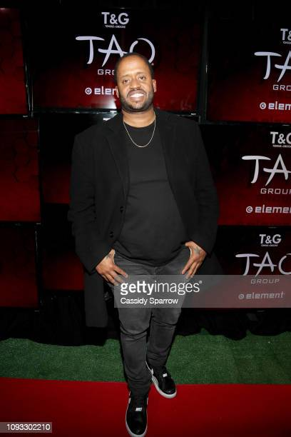 Kenny Hamilton attends TAO Group's Big Game Takeover presented by Tongue Groove on February 2 2019 in Atlanta Georgia