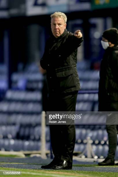 Kenny Jackett of Portsmouth FC during the Sky Bet League One match between Portsmouth and Peterborough United at Fratton Park on December 05, 2020 in...