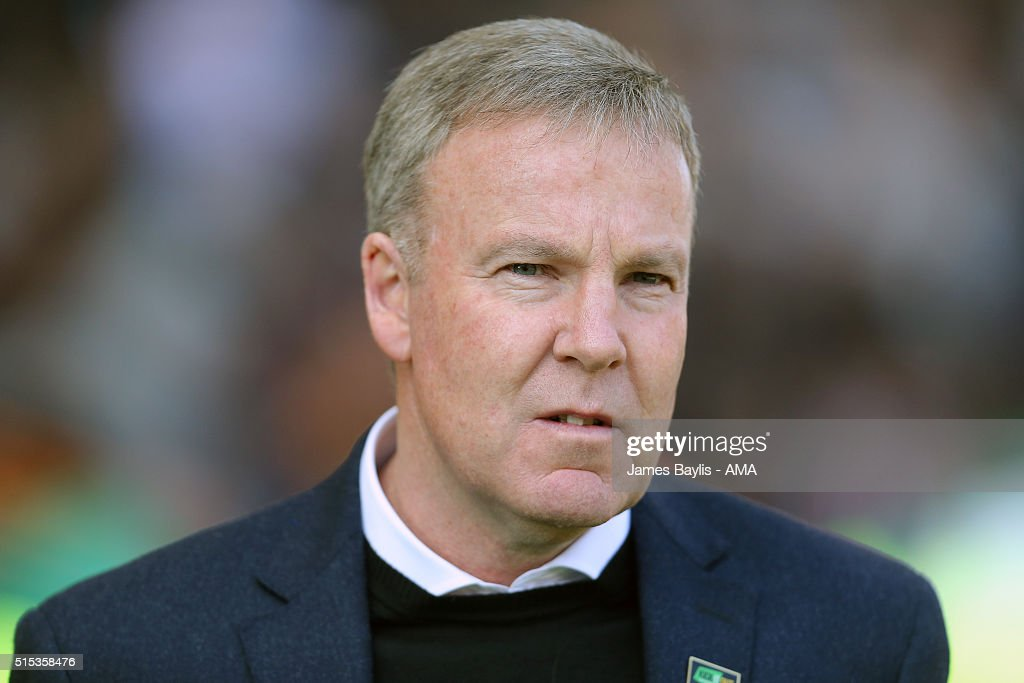 Kenny Jackett the head coach / manager of Wolverhampton Wanderers during the Sky Bet Championship match between Wolverhampton Wanderers and Birmingham City on March 13, 2016 in Wolverhampton, United Kingdom.