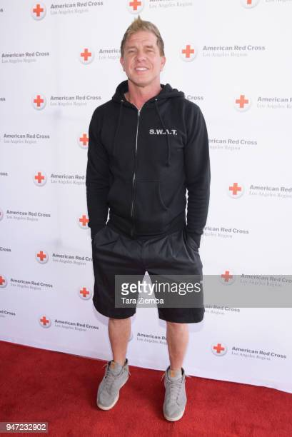 Kenny Johnson attends the Red Cross' 5th Annual Celebrity Golf Tournament at Lakeside Golf Club on April 16, 2018 in Burbank, California.