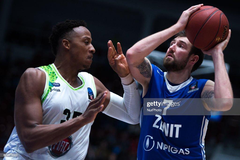 Zenit St. Petersburg v Tofas Bursa - Basket EuroCup Round 5