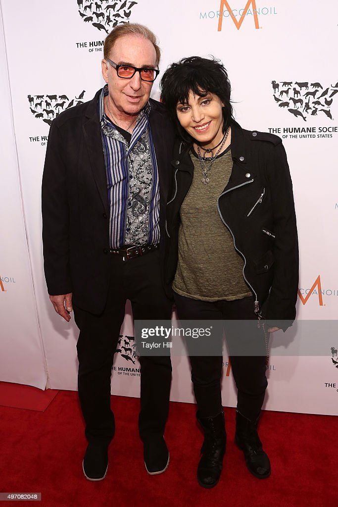 Kenny Laguna and Joan Jett attend The Humane Society Gala at Cipriani 42nd Street on November 13, 2015 in New York City.